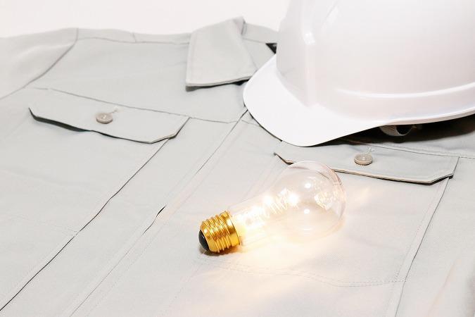 発電所設備で活躍する電気工事